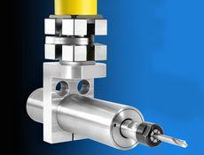 Bohrwerkzeuge - Druckluft-Motor mit Aufnahme