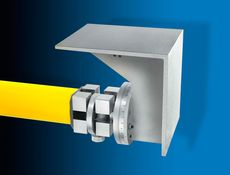 Anreißeinsatz mit Winkeleinstellung 100 x 125 mm - Geeignet zum Anreißen von schrägen Risslinien mit der Reißnadel 450182.